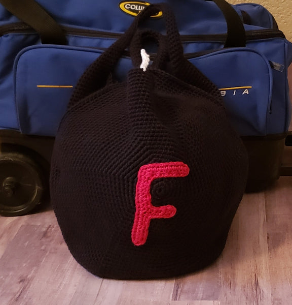F-Bomb Bowling Ball Bag Crochet Pattern