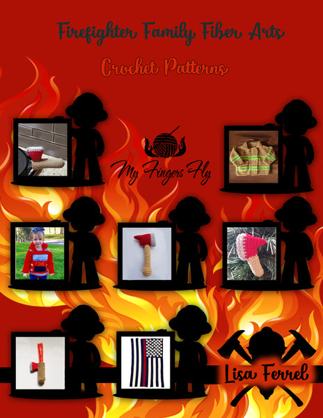 Firefighter Family Fiber Arts Patterns Ebook