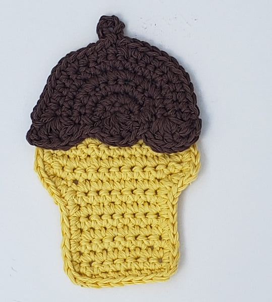 Ice Cream Potholder Crochet Pattern