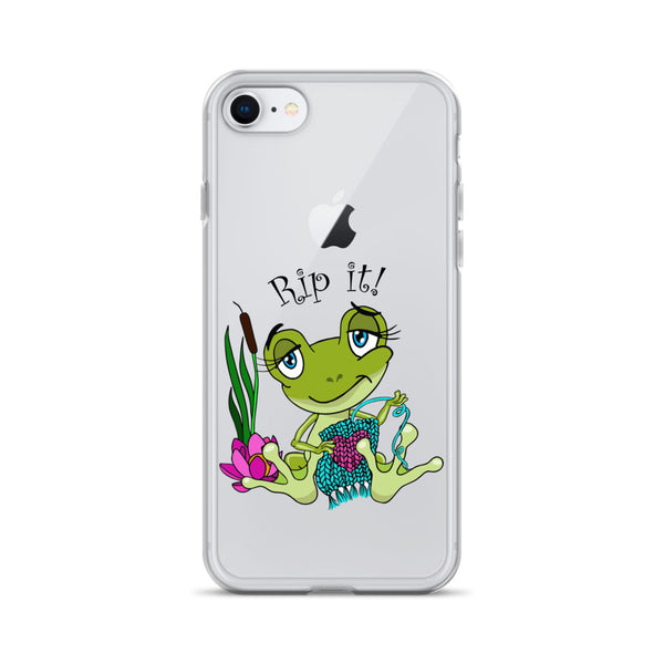Rip It! Frog iPhone Case