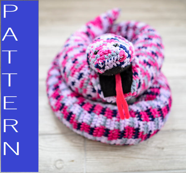 Snake Plush Toy Crochet Pattern
