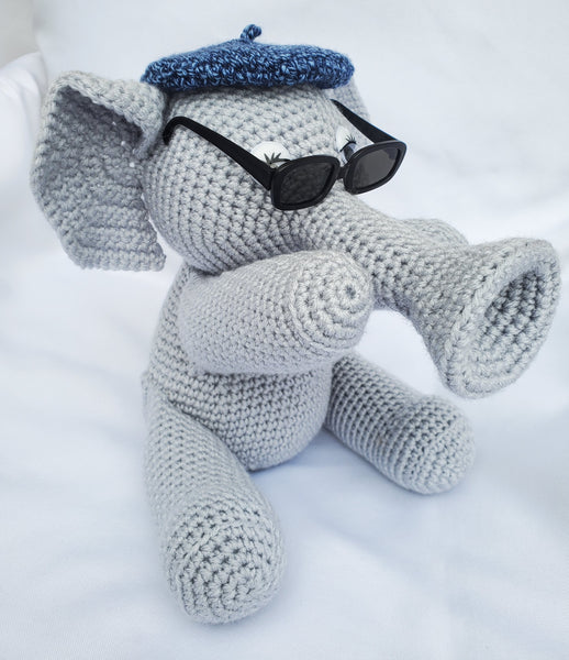 Miles the Jazzy Elephant Crochet Pattern