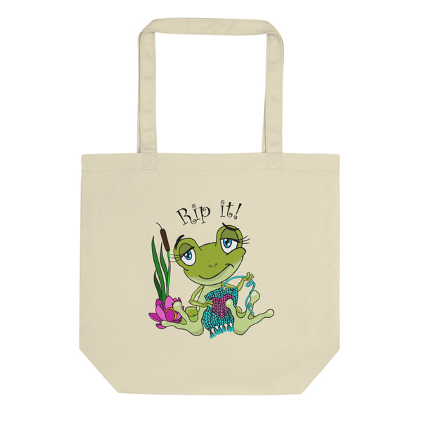 Rip It! Frog Eco Tote Bag