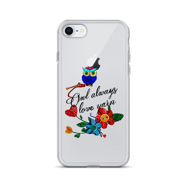 Owl Always Love Yarn iPhone Case