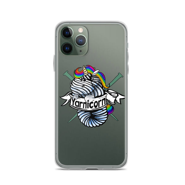 Yarnicorn iPhone Case
