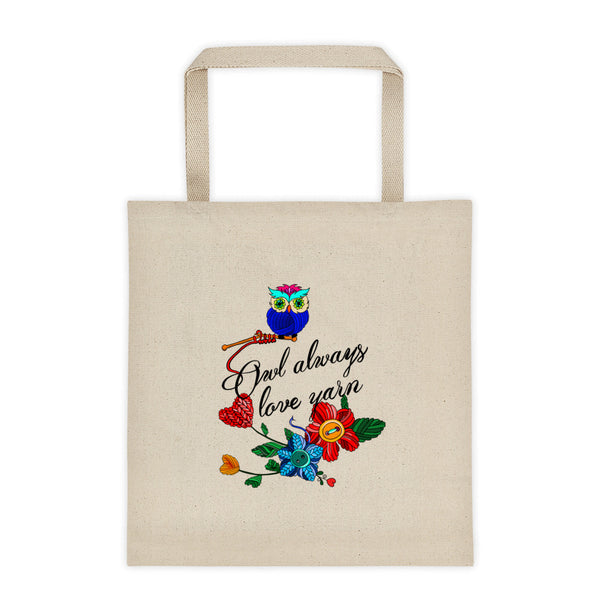 """Owl Always Love Yarn"" Tote bag"