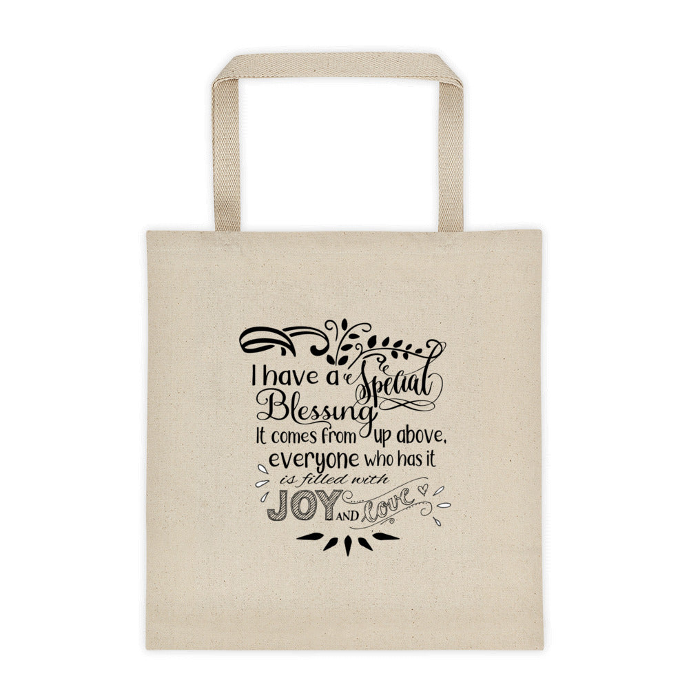 """Special Blessing"" Tote bag"