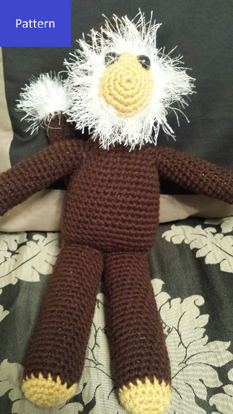 Bearded Monkey Crochet Pattern