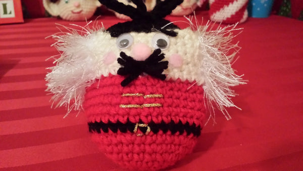 Nutcracker Goody Bag Crochet Pattern in PDF Format