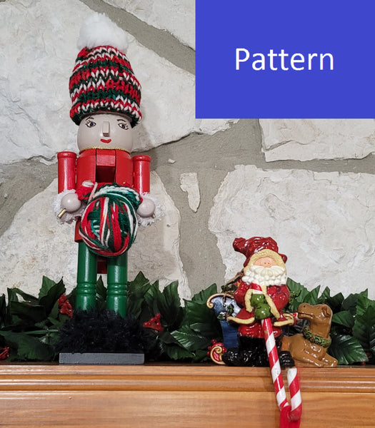 Crocheting Nutcracker Figurine Pattern - DIY Christmas Gift