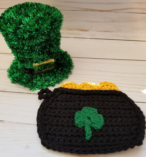 Pot of Gold Potholder Crochet Pattern