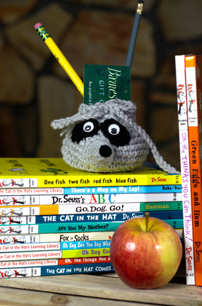 Raccoon Goody Bag Crochet Pattern