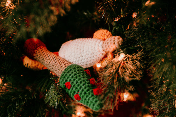 Angel Baby Rattle Crochet Pattern - Christmas Baby Rattle Crochet Pattern