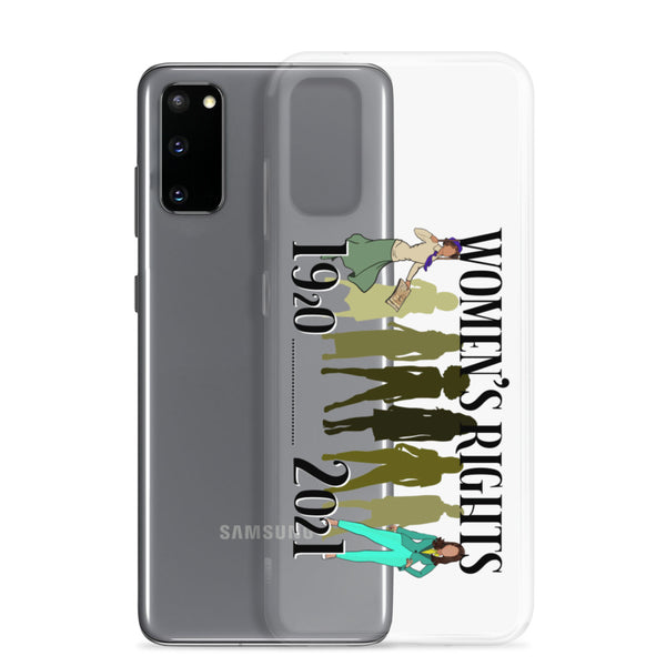 History of Women's Rights 1920 to 2021 Samsung Phone Case