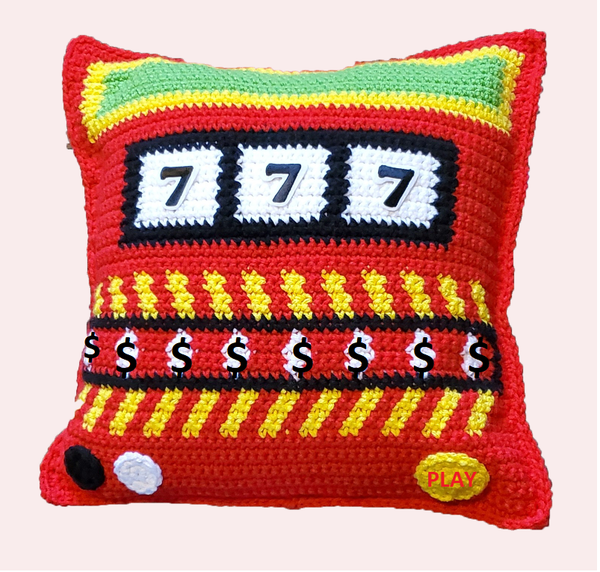 Slot Machine Pillow Crochet Pattern