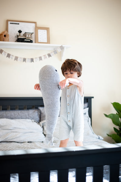 Quick & Easy Whale Pillow Crochet Pattern