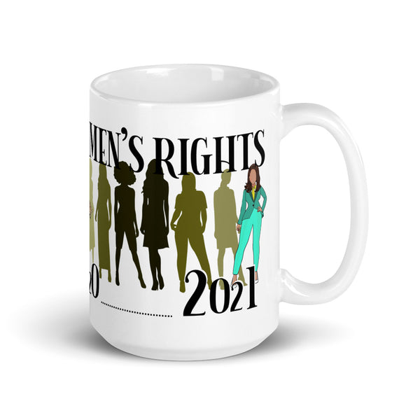 History of Women's Rights 1920 to 2021 Ceramic Mug