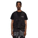 BLACK-TACTICAL VEST - EPTM.