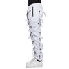 EPTM WHITE-ACCORDION PANTS - EPTM.