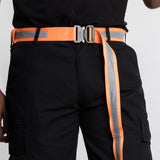 NEON ORANGE-REFLECTIVE BELT - EPTM.
