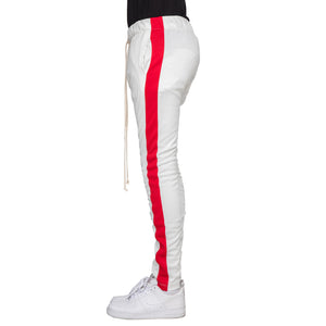 OFF WHITE/RED-TRACK PANTS - EPTM.
