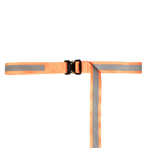NEON ORANGE-REFLECTIVE BELT