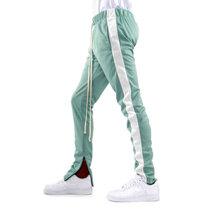 MINT/WHITE-Track Pants