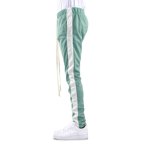 MINT/WHITE-Track Pants - EPTM.