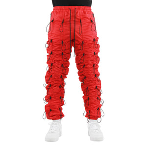 EPTM RED-ACCORDION PANTS - EPTM.