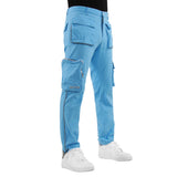 EPTM SKY BLUE-3M PIPING CARGO PANTS - EPTM.