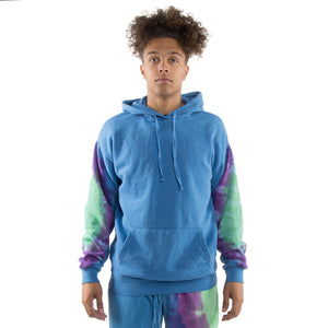 EPTM BLUE-TIE DYED HOODIE - EPTM.