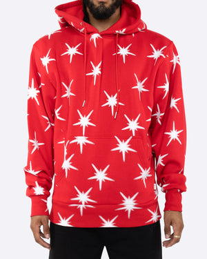 EPTM RED-GALAXY HOODIE