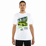 EPTM WHITE/NEON-ON DEMON TIME TEE