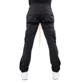 EPTM BLACK-SNAP CARGO PANTS