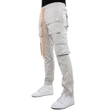 EPTM GREY-SNAP CARGO PANTS