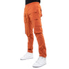 EPTM ORANGE-SNAP CARGO PANTS