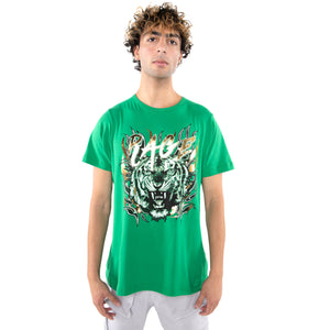 EPTM GREEN-RAGE TIGER TEE