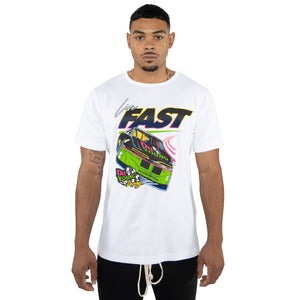 EPTM WHITE-LIVE FAST DIE YOUNG TEE