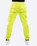 EPTM NEONGREEN-FLEECE CARGO PANTS