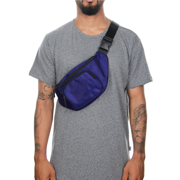 BLUE-POLY CROSS BAG - EPTM.