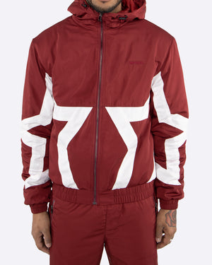 EPTM BURGUNDY-STAR JACKET