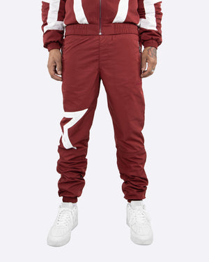 EPTM BURGUNDY-STAR PANTS