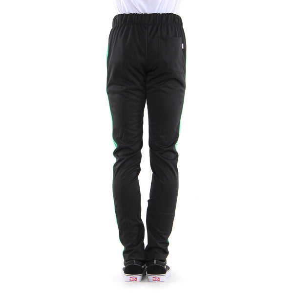 BLACK/TEAL-TRACK PANTS - EPTM.