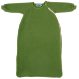 Organic Merino Wool Fleece Baby Toddler Sleeping Bag with sleeves. Reiff.