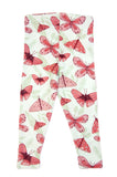 Pink Butterfly baby leggings by igi organic - Special Little Shop - 2
