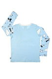 Blue Sky long sleeve baby toddler vest top by igi - Special Little Shop - 2
