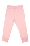 Pink Butterfly baby joggers (sweat pants) by igi organic - Special Little Shop - 2