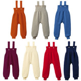Disana Organic Merino Wool knitted baby dungarees / trousers (7 colours) - Special Little Shop - 1