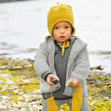Disana Child's Boiled Wool Jacket Coat with Hood for Boys or Girls