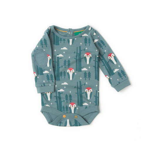Enchanted Wood Baby Long Sleeve Bodysuit by Little Green Radicals - Special Little Shop